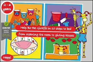 Screenshot of Bo's Bedtime Story
