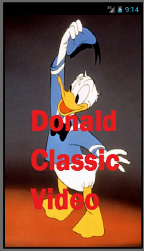 Donald Classic Video