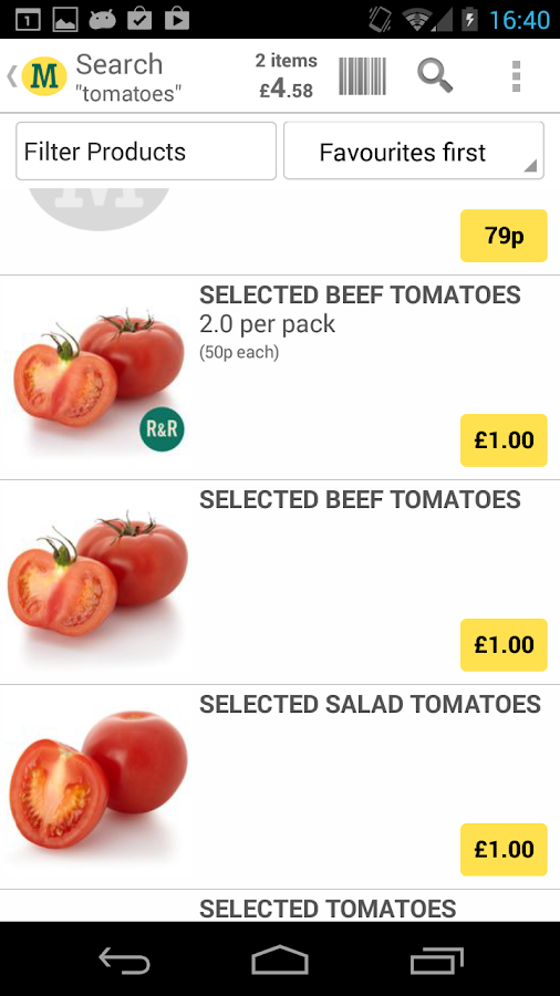 Morrisons Groceries - screenshot