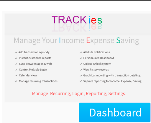 Trackies-IncomeExpense Tracker