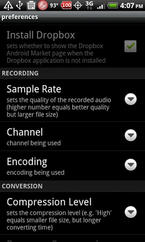Fusion Recorder - screenshot