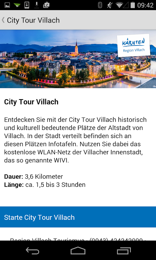 Region Villach – Screenshot