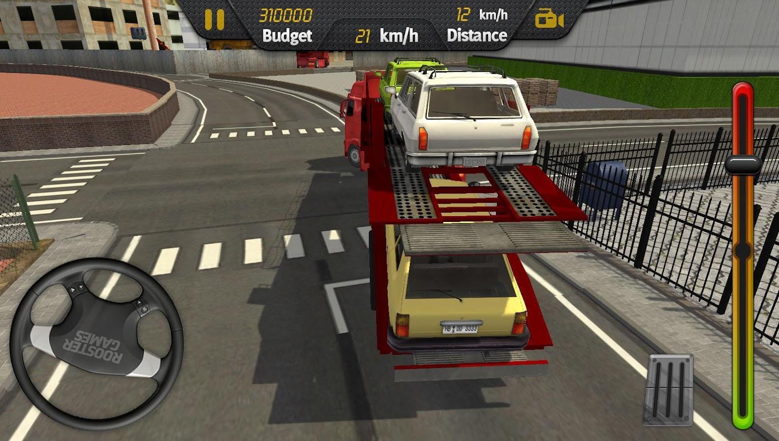 Real truck driver screenshot