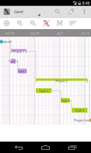 Project Schedule- screenshot thumbnail