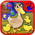 ABC Farm Animal Join the Dots icon