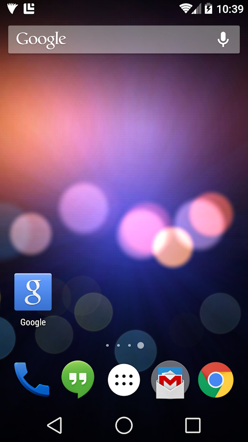 City Bokeh Free Live Wallpaper - screenshot