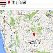 Thailand Mapa