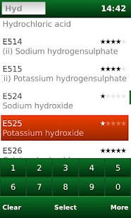 E-Codes: Food Additives - screenshot thumbnail
