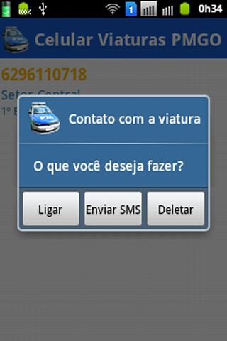 【免費通訊App】Celular Viaturas PMGO-APP點子