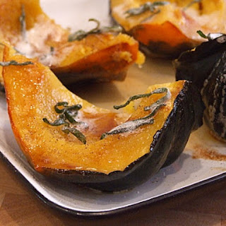 Roasted Winter Squash with Brown Butter & Sage.