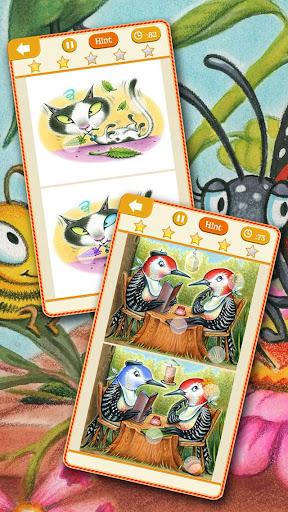 動物王國版 尋找差異-孩子的自然觀察游戲