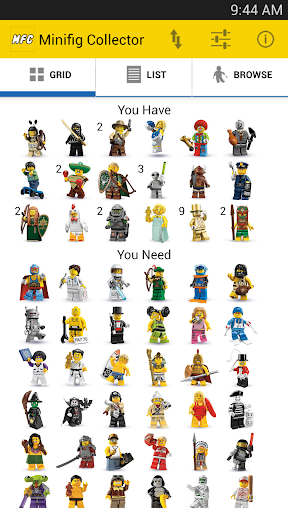 Minifig Collector for LEGO®