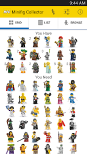 Minifig Collector for LEGO® - náhled