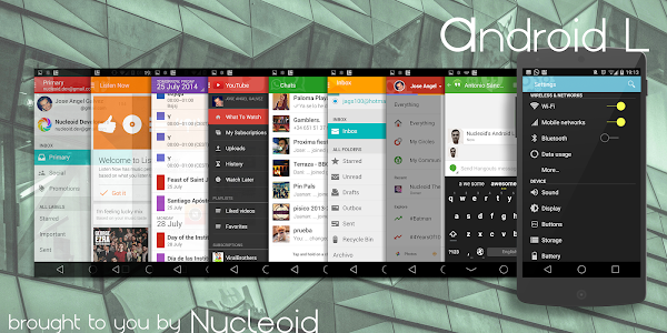 Lollipop 5.0 Dark Theme v2.q