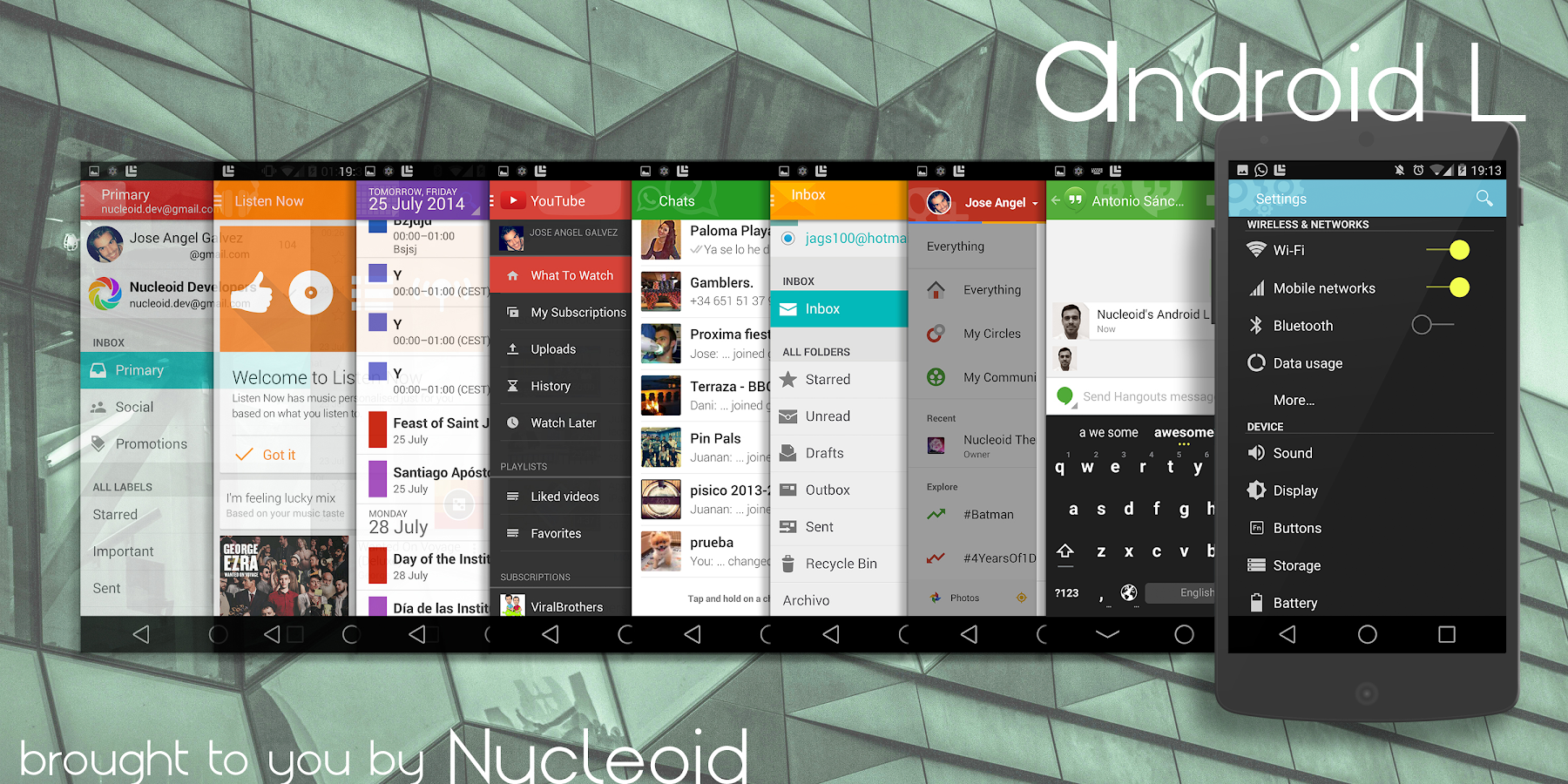 Gmail dark theme chrome