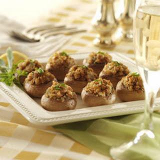Italian-style Stuffed Mushrooms.