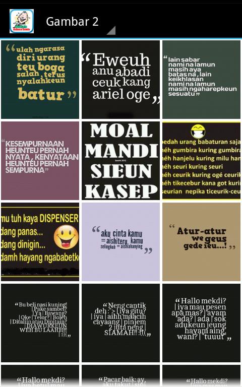 Kata Lucu Bahasa Sunda December Statistics On Google Play