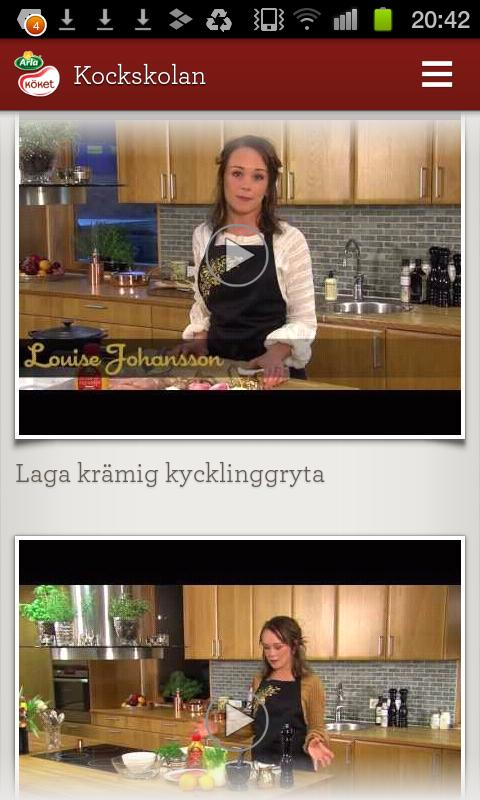 Arla Köket - screenshot