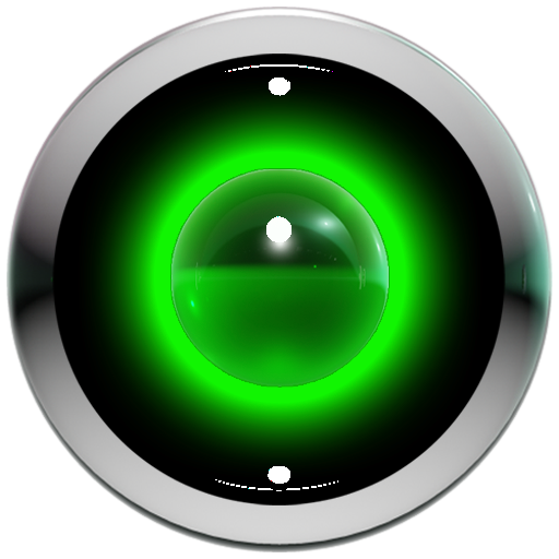 poweramp skin green 3d LOGO-APP點子