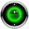 poweramp skin green 3d icon