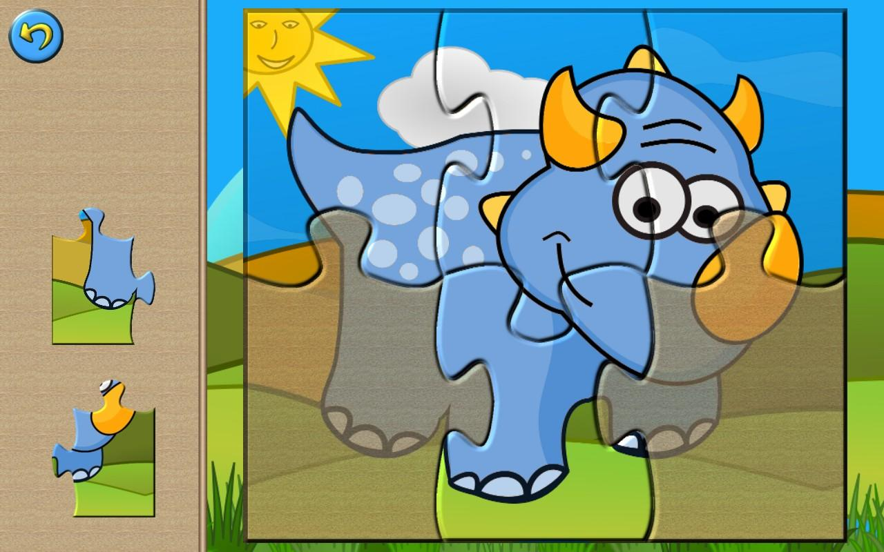 Dino Puzzle Games For Kids