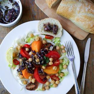 Heirloom Tomato Salad + Olive Bagna Cauda