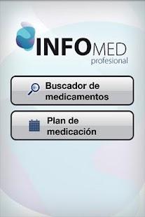 InfoMed profesional- screenshot thumbnail