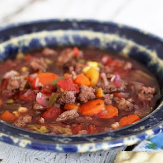 Jan's Crockpot Hamburger Soup