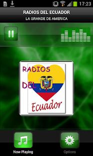 RADIOS DEL ECUADOR - screenshot thumbnail