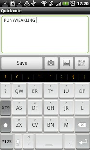Chiclet - HD Keyboard Theme - screenshot thumbnail