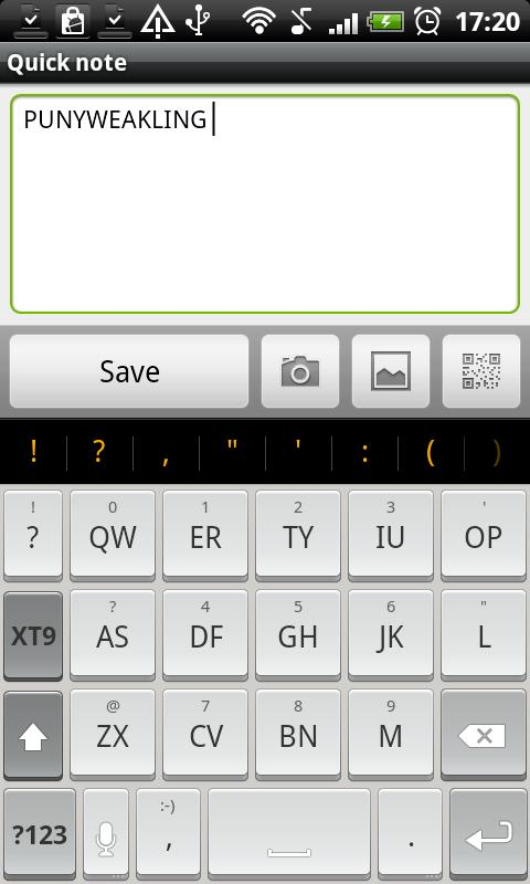 Chiclet - HD Keyboard Theme - screenshot