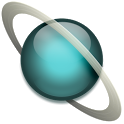 Space Uranus sticker FREE icon