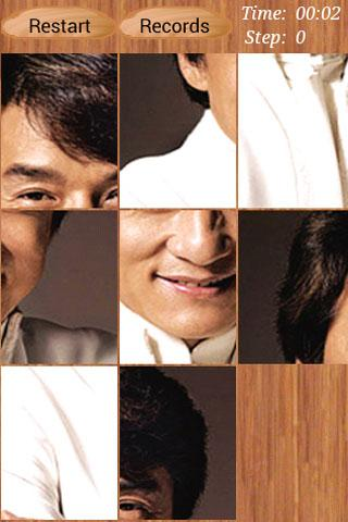 Jackie Chan Puzzle - screenshot