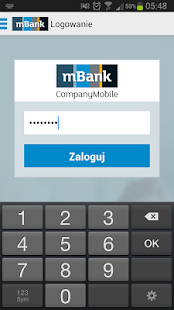 mBank CompanyMobile- screenshot thumbnail
