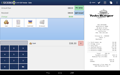 SIODROID Point of Sale (DEMO) screenshot 14