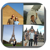 Travelling Photo Collage/Frame