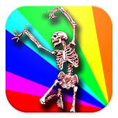 Toddler 3D Skeleton Dance Kids