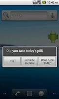 Screenshot of Pill Reminder