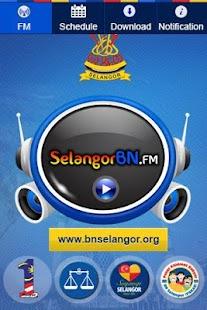 Selangor BN FM - screenshot thumbnail