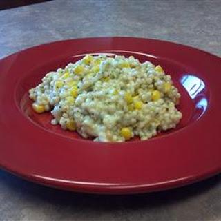 Creamy Corn Couscous.