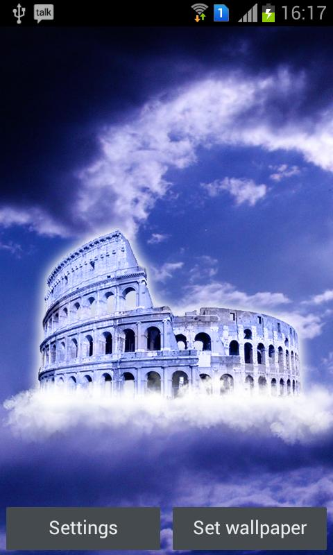 Colosseum Free Live Wallpaper - screenshot