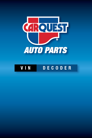 CARQUEST VIN Decoder- screenshot