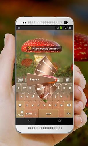 紅菇 GO Keyboard Theme