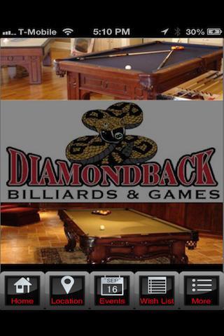 DiamondBack Billiards and Game