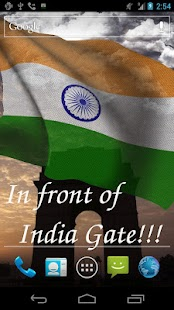 3D India Flag- screenshot thumbnail