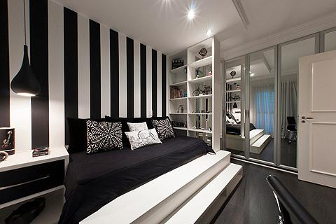 Black white bedroom ideas android apps on google play Black and white room designs