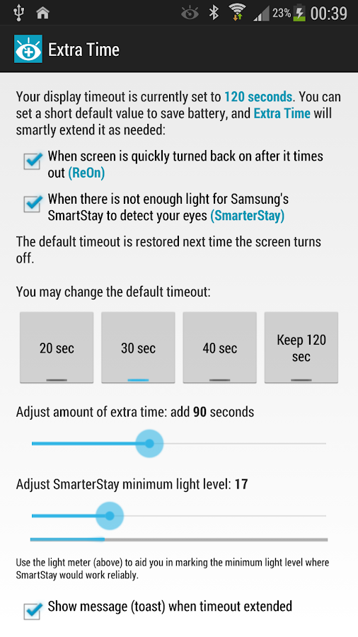 ReOn Extra Time SmarterStay - screenshot