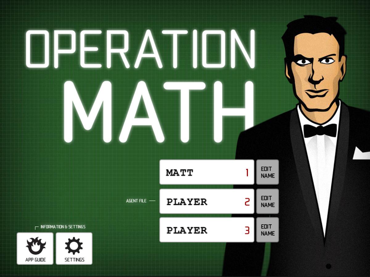 Operation Math - screenshot