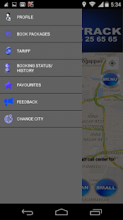 FriendsTrack Call Taxi & Cabs- screenshot thumbnail
