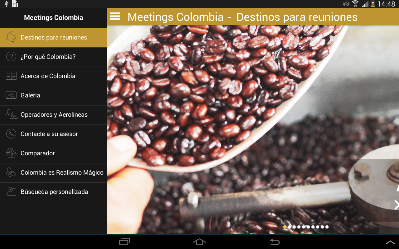 Meetings Colombia- screenshot